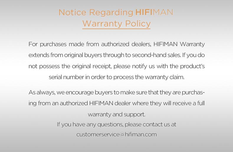 warranty policy